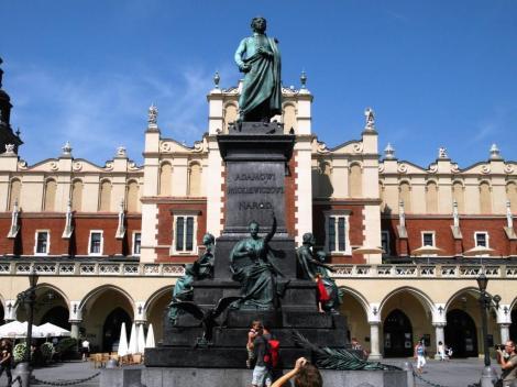 Krakau: Mickiewicz-Denkmal (2014)
