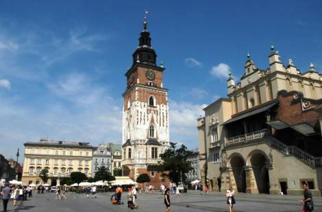 Krakau: Rathausturm und Tuchhallen (2014)