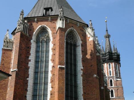 Krakau: Marienkirche [Blick vom Kleinen Ring] (2014)