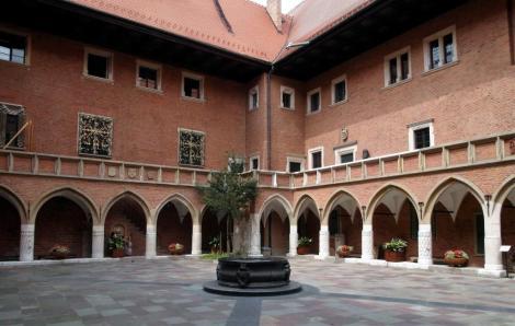 Krakau: Collegium Maius [Universität] - Innenhof (2014)