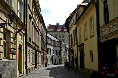 Krakau: Kanonikerstraße [ul. Kanonicza] (2014)