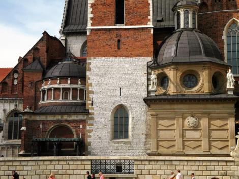 Krakau: Kathedrale auf dem Wawel - Potockikapelle und Wasakapelle (2014)