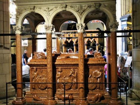 Krakau: Kathedrale - Grabmal von Wladislaw II. Jagiello (2014)