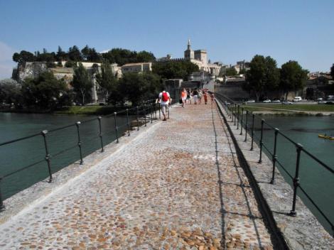 Avignon: Benedikt-Brücke [Pont St-Bénézet] (2013)