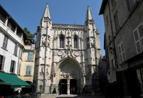 Avignon: Kirche St. Pierre (2013)