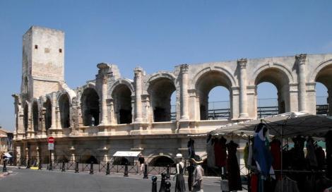 Arles: Römisches Amphitheater (2013)
