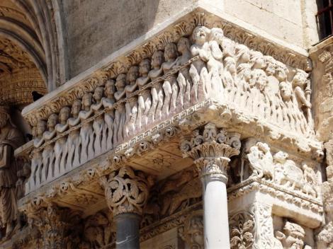 Arles: St. Trophime - Portal [Die Verdammten] (2013)