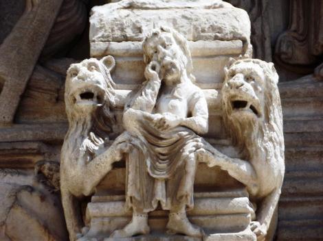 Arles: St. Trophime - Portal [Daniel in der Löwengrube] (2013)