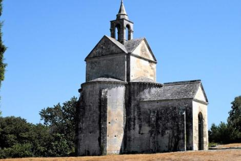 Montmajour: Kapelle Ste. Croix (2013)