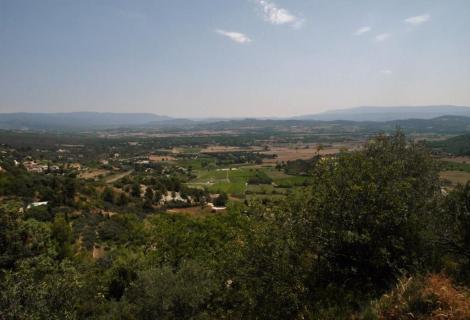Landschaft bei Gordes (2013)