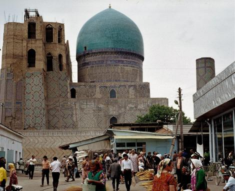 Samarkand: Moschee Bibi Chanym (1984)