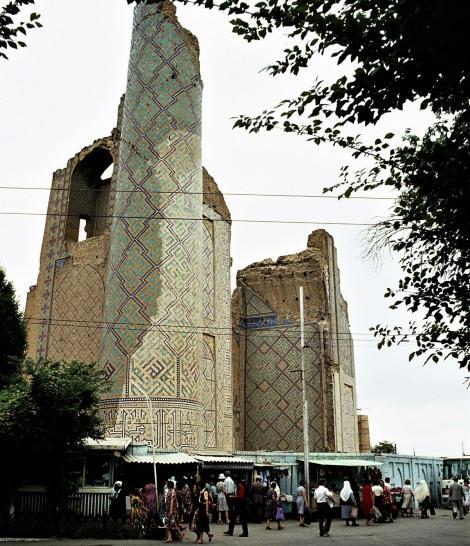 Samarkand: Moschee Bibi Chanym - Portal (1984)