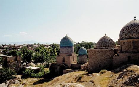Samarkand: Gräberstraße Schah-i-Sinda (1984)