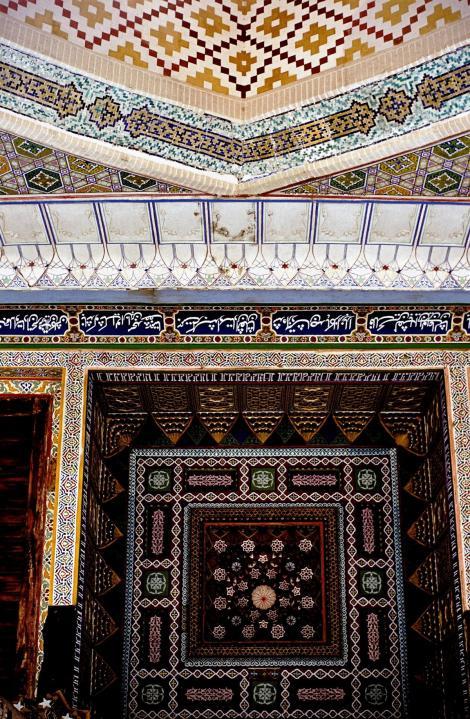 Buchara: Eingang der Moschee Bolo Chaus (1984)