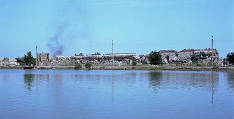 Buchara: Stadtmauer (1984)
