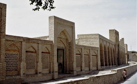 Buchara: Karawanserei für die Kuppel der Mützenmacher (1984)