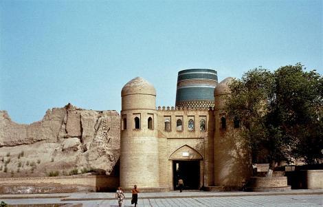 Chiwa: Westtor und Stadtmauer (1984)