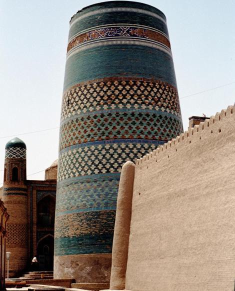Chiwa: Minarett Kalta Minar (1984)