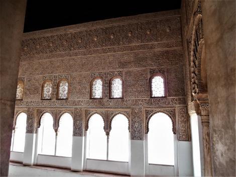 Alhambra: Betsaal neben dem Saal des Mexuar (2018)