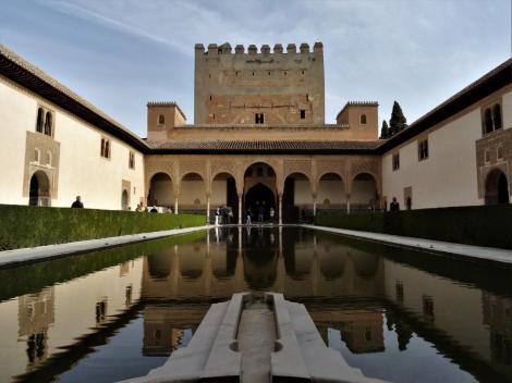 Alhambra: Myrtenhof mit Comaresturm (2018)