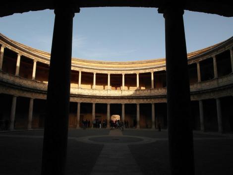 Alhambra: Palast Karls V. - Innenhof (2018)