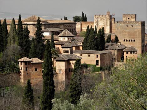 Generalife: Blick zur Alhambra (2018)