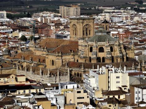 Kathedrale [Blick von der Alhambra] (2018)
