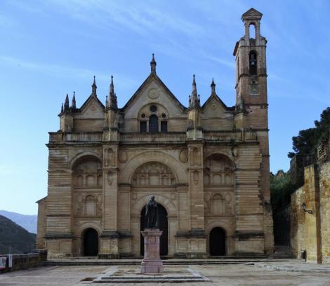 Antequera-020b Stiftskirche Santa Maria la Mayor (2018)