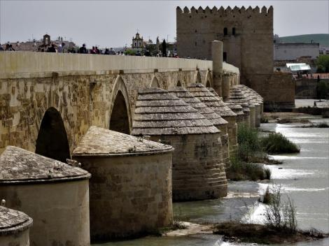 Römerbrücke über den Guadalquivir, hinten Calahorraturm (2018)