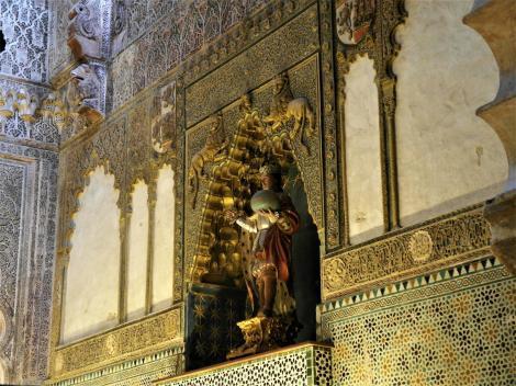 Mezquita: Königliche Kapelle - Statue Ferdinand III. (2018)