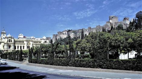 Rathaus und Alcazaba (1986)