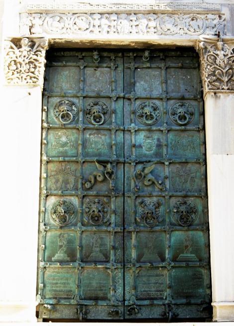 Troia: Hauptportal der Kathedrale (2001)