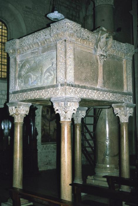 Troia: Kathedrale - Kanzel (2001)