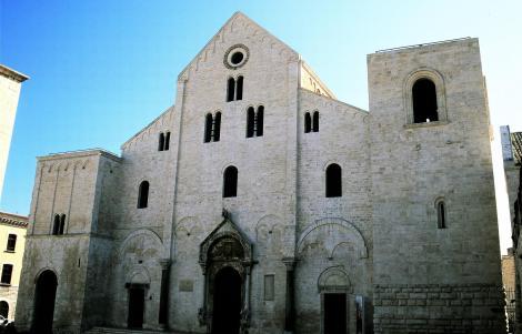Bari: San Nicola - Westfassade (2001)