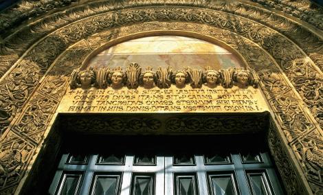 Lecce: Kirche S. Nicolo e Cataldo - Hauptportal (2001)