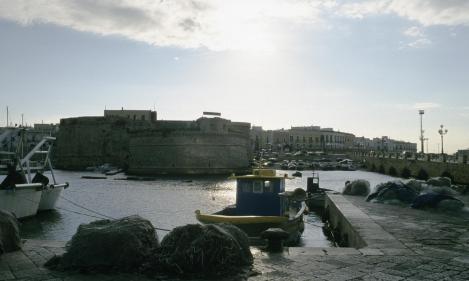 Apul288 Gallipoli Blick zur Insel mit Kastell (2001)