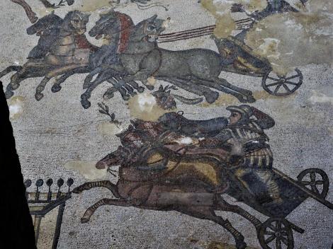 Villa Romana del Casale: Zirkussaal [Wagenrennen im Circus Maximus] (2018)