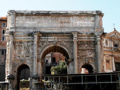 Forum Romanum: Septimus Severus-Bogen (2013)