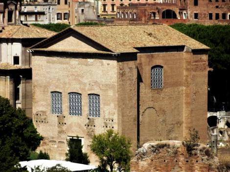 Forum Romanum: Curia [Blick vom Palatin] (2013)