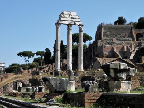 Forum Romanum: Kastor- und Polluxtempel (2013)