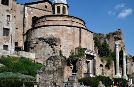 Forum Romanum: Romulustempel (2013)