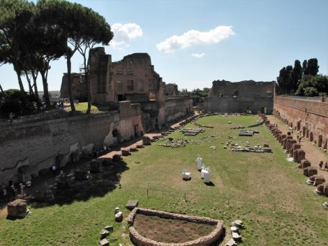 Palatin: Stadion des Domitian (2013)