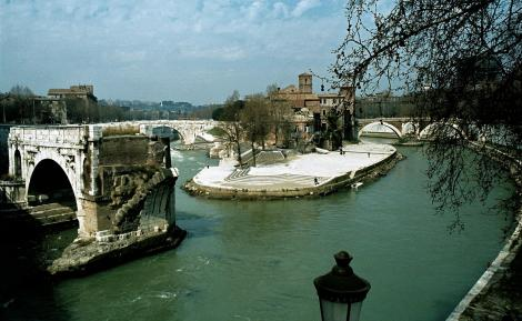Tiberinsel und Ponte Rotto (1981)