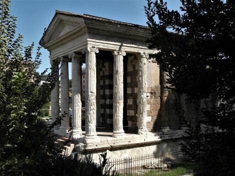 Forum Boarium: Tempel der Fortuna Virilis (2013)