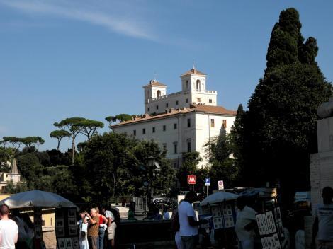 Blick zur Villa Medici (2013)