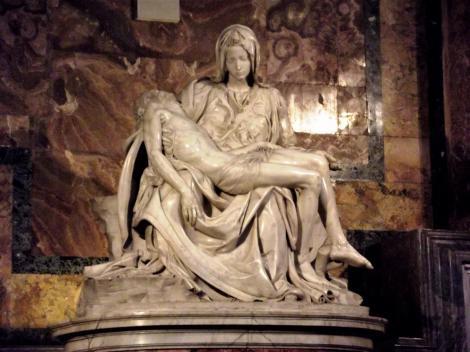 Petersdom: Pieta von Michelangelo (2013)