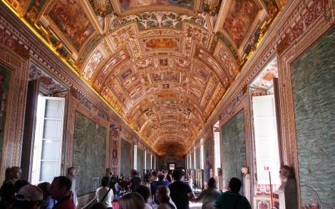 Vatikanische Museen: Galerie der Landkarten (2013)