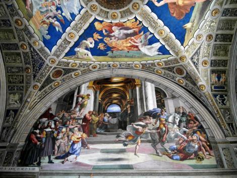 Vatikanische Museen - Stanzen des Raffael: Eliodorosaal (2013)