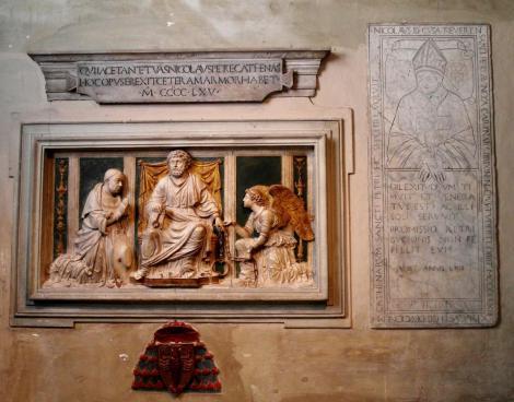 Kirche San Pietro in Vincoli: Grabstätte des Nikolaus von Kues (2013)