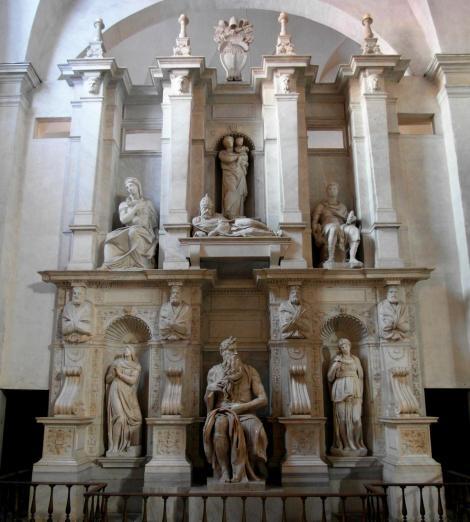 Kirche San Pietro in Vincoli: Grabmal für Papst Julius II. von Michelangelo (2013)